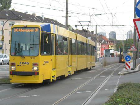 Linie 108 nach Altenessen, Duewag M-Wagen