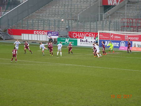 SG Essen gegen MSV Duisburg