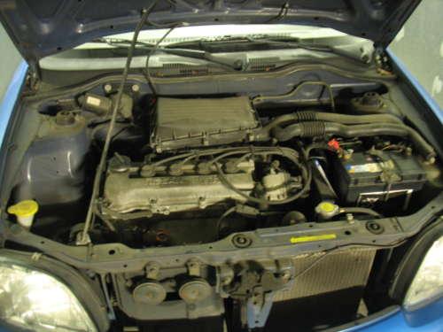 le moteur de ma voiture de Nissan Micra de l'an 2000.
