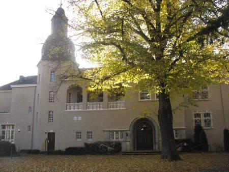kasteel in de zon van Mülheim