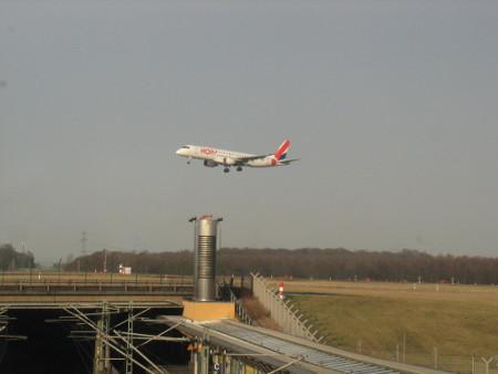 Un avion d'HOP! à Düsseldorf