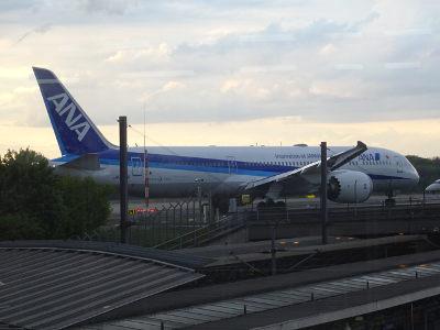 Dreamliner, Boeing, 787, ANA